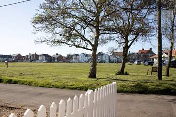 A wonderful outlook across St Helen Green.