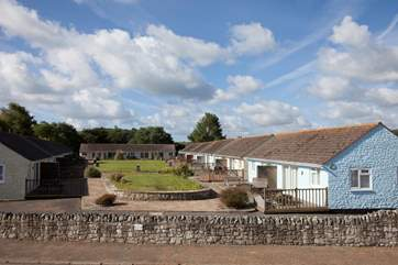 Cockleshells is set in a quiet and private development, The Salterns Village