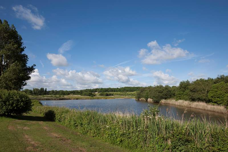 A stones throw from Hersey Nature Reserve, a tranquil and peaceful setting