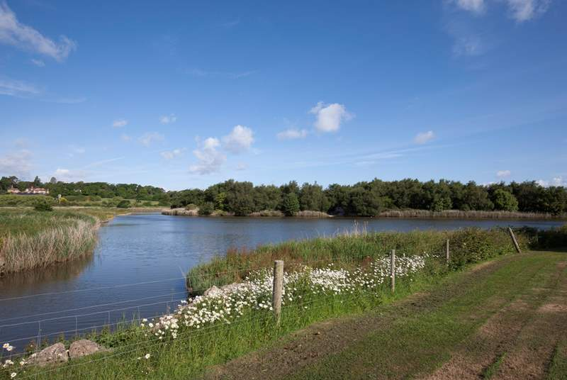 Bring your binoculars and watch the beautiful array of wildlife in the nature reserve