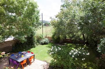Grab the sausages, light the barbecue enjoy dinner in the garden on a warm summers evening