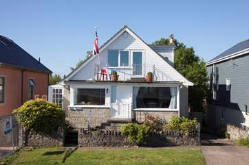 Tides Reach is a fabulous four bedroom property, with unbeatable sea views, games room and beautiful garden