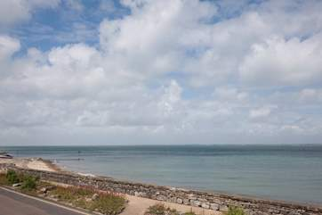 Lovely walks along the seafront to the nearby town of Ryde is a must do for any keen walker
