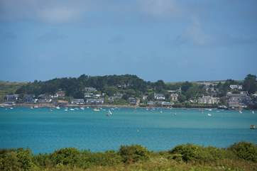 Both Rock and Padstow are well worth a visit.