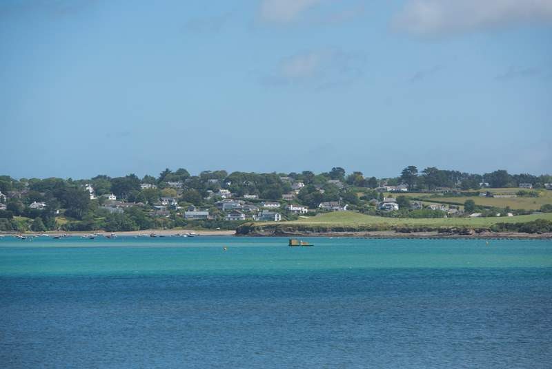You can see over to Padstow in one direction and Rock in the other.