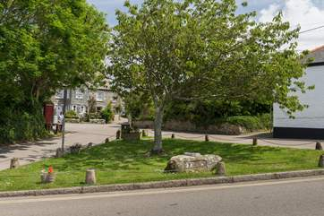 The village square in Crantock.