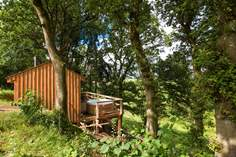 George Cabin Sleeps 2 + cot, 2.5 miles SW of South Molton.