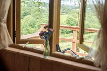 The gorgeous view can be enjoyed from every window.