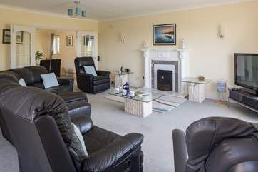 Lovely sitting-room, perfect for bringing everyone together for some evening entertainment.