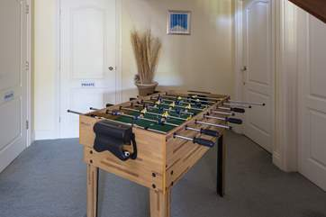 Ping pong or table football, take your pick.
