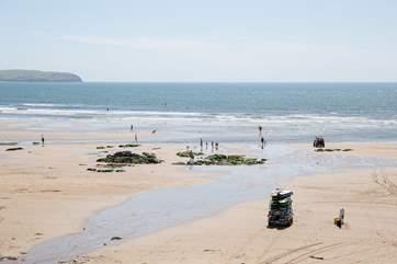 Sedgewell beach, simply stunning!