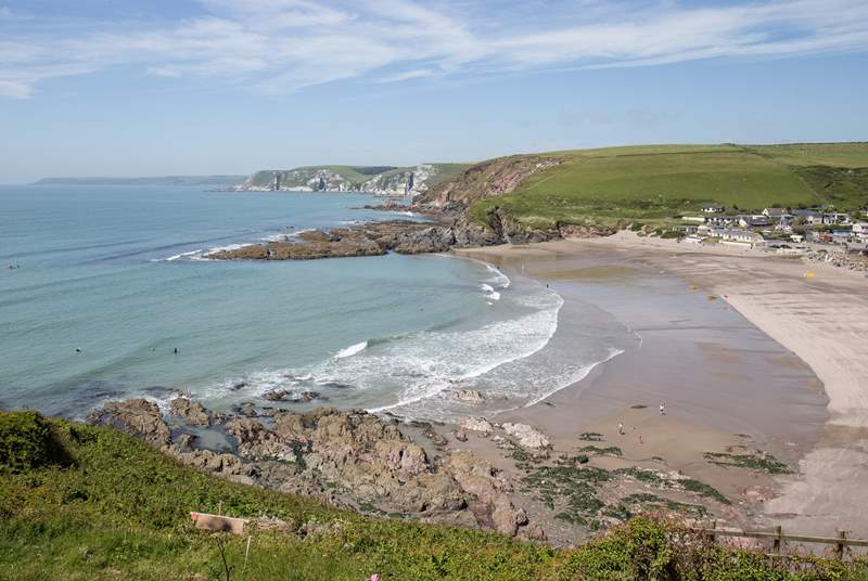 In this fabulous location, you also have Challaborough beach just around the corner. You're really spoilt for choice.