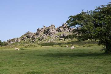 Superb views from every angle on Dartmoor.