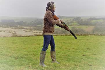 Anyone for a spot of clay pigeon shooting? If so, this can be arranged for you and your party on request and takes place within Lower Willsworthy grounds.