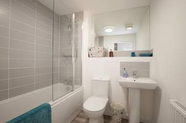 The family bathroom is on the ground floor, perfect for the two downstairs bedrooms