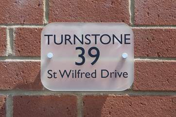 Turnstone, 39 St Wilfred Drive, your perfect holiday starts here.