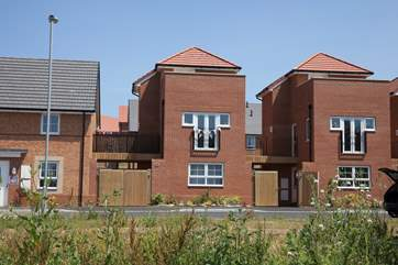A newly built town house,Turnstone is a three bedroom house in Whippingham, East Cowes.