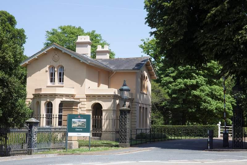 Explore the history at the wonderful Osborne House