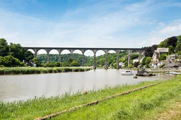 Why not hire a canoe, and take to the water in the local village of Calstock?