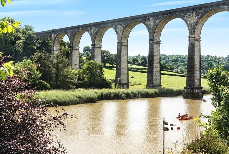 Calstock viaduct.