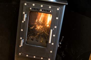 Light the wood-burner and snuggle up.
