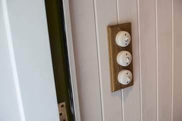 Even down to the lightswitches!