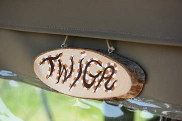 All your glamping needs are catered for here at Twiga.