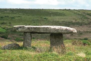 Lanyon Quoit, one of the ancient stones in the area.