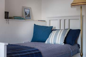 Lovely bed linens, cushions and throws.