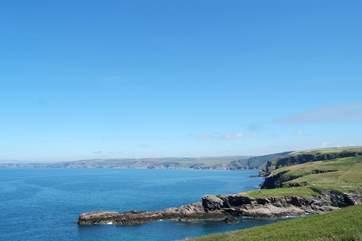 The north coast is quite spectacular.