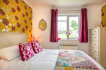 Colourful and charming bedroom 2.