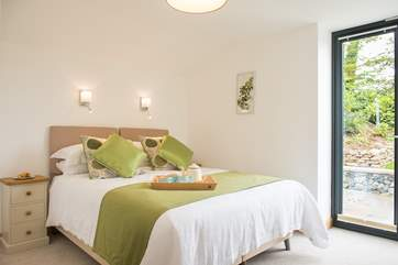 Both bedrooms are beautifully furnished.