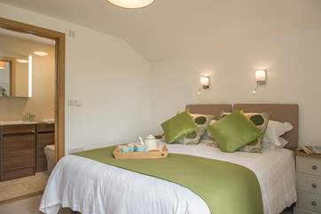 Bedroom 2, which overlooks the garden, can be made up as either a double bed or twin beds - just let us know.
