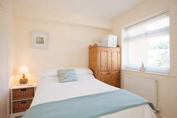 The sweet double on the first floor benefits from an en suite Shower-room