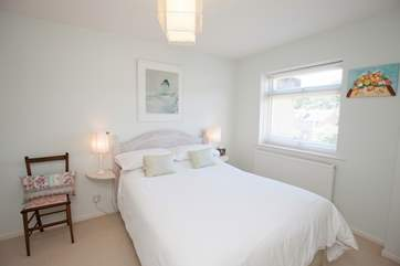 There are three pretty, double bedrooms to choose from on both the first and second floor