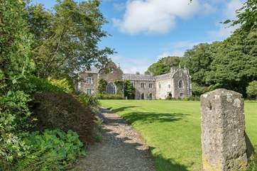 The 17th Century manor house takes centre stage on the estate.