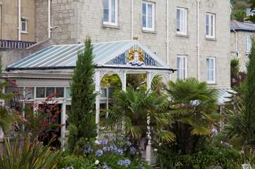The Royal Hotel, this grand hotel with formal gardens is close to the seafront