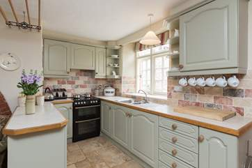 This is the second kitchen - such a useful extra facility for a large group booking or for two families offering independence to each.