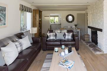 Open plan living area makes it easy to enjoy each other's company whether your cooking supper, laying the table or simply relaxing watching television.