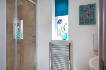 The en suite shower-room for Bedroom 1.