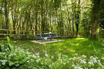 A lovely spot for a picnic or drink