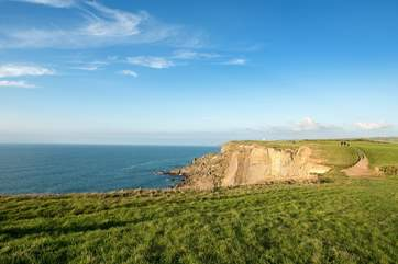 Pop on your walking boots and discover endless miles of coastal footpath