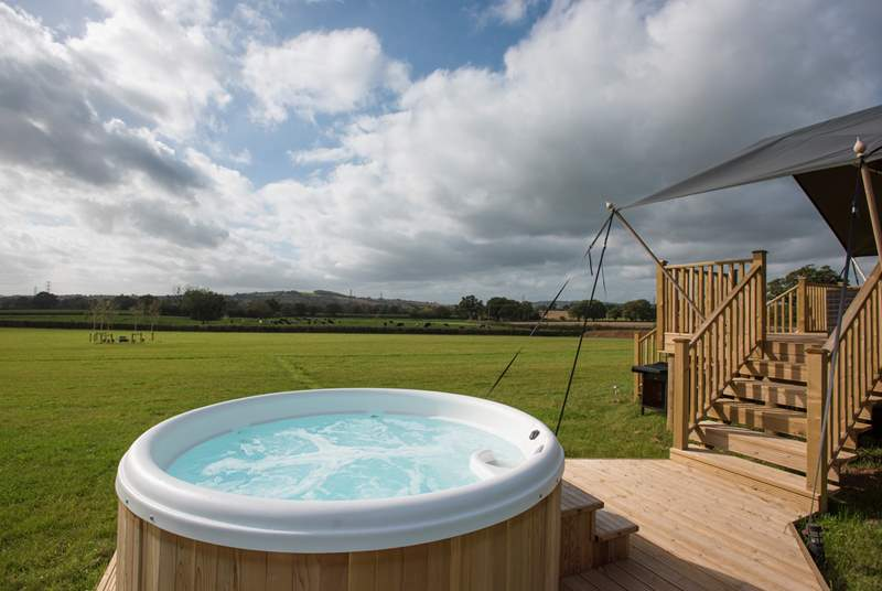 The electric hot tub is superb and will be switched on ready for your arrival.