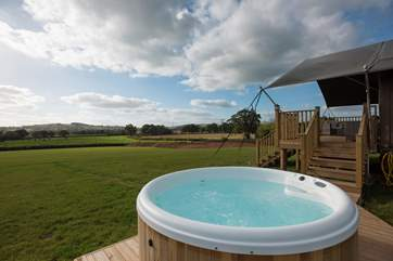 Hayloft is a wonderful family retreat, complete with bubbling electric hot tub that will be turned on for your arrival.