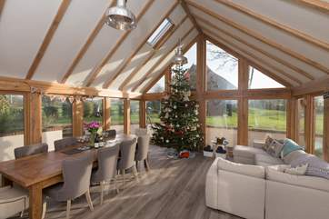Christmas at Middle Weaver is something very special. A perfect multi-generational place to stay to celebrate the festive season.
