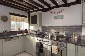 The super kitchen is exceptionally well equipped - this house is so much more than 'home from home'.