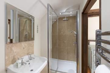 The fifth bedroom has its one en suite shower-room.