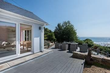 A wrap-around deck offers limitless views.