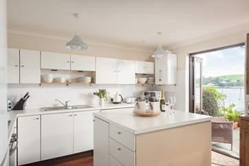 A wonderful kitchen to work in.