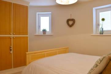 You get a relaxing feel in the second double bedroom, a lovely place for your eight hour's sleep.